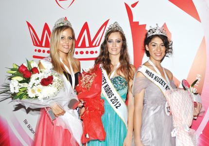 Miss Kuzey Kıbrıs tacını giydi!