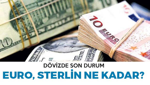 Sterlin ve Euro'da son durum ne?