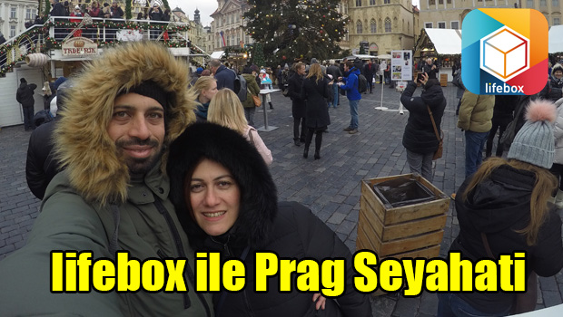 lifebox ile Prag Seyahati