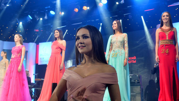 Tataristan'ın en güzeli seçildi