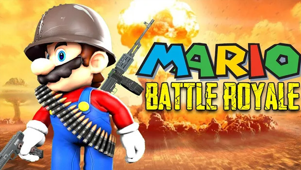 PUBG'ye rakip: Super Mario Battle Royale!