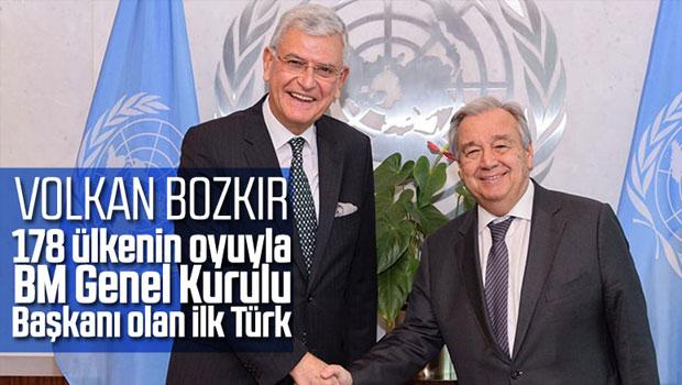 BM 75. Genel Kurul Başkanlığına Volkan Bozkır seçildi - Haber Kıbrıs